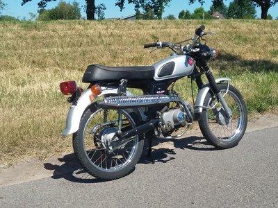 Honda CL50 Japans 19087 km, met kenteken!